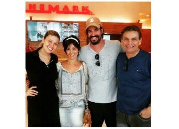 Cafu, Flavio Saretta e Suzana Alves !!!!!