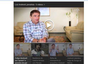 Minha entrevista em vídeo e a matéria feitas pela UOL !!!!