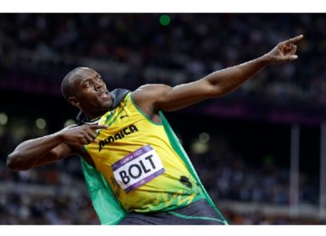 Bolt ligou o turbo e despachou os adversários !!!