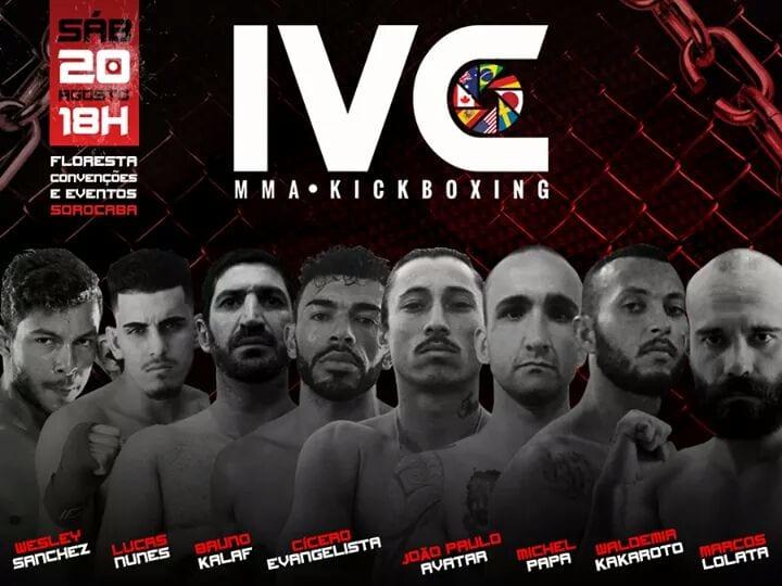 IVC Kickboxing poster