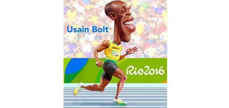 Clique e veja a charge do mito Bolt