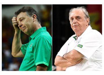 Os dois técnicos do Brasil no basquete são demitidos