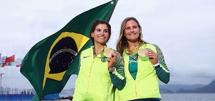 Vento a favor e Brasil conquista ouro na Vela