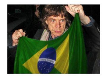 Onde está o Mick Jagger?