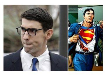 Phelps é a identidade secreta de Clark Kent nas piscinas