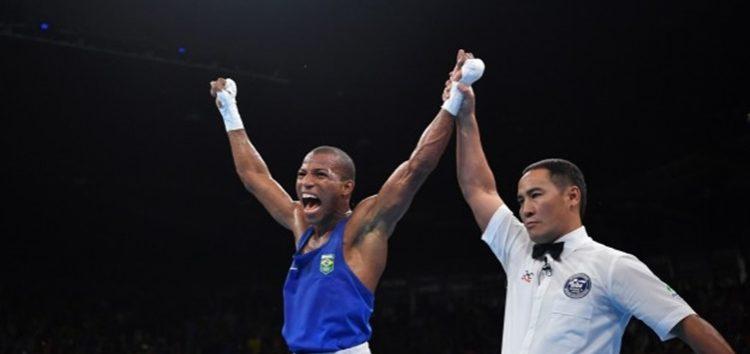 Êta baiano porreta: Medalha de ouro no boxe