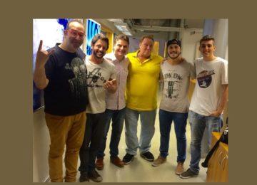Um mix de entrevista e homenagem na Bradesco Esporte FM