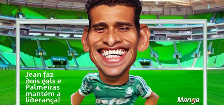 Clique e veja a charge do pênalti do Palmeiras