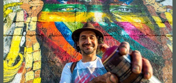 Grafite é pura arte nos muros da cidade