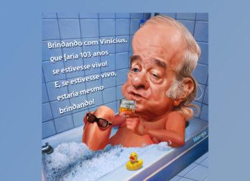 """Clique e veja """"o poetinha"""" Vinícius de Moraes"""