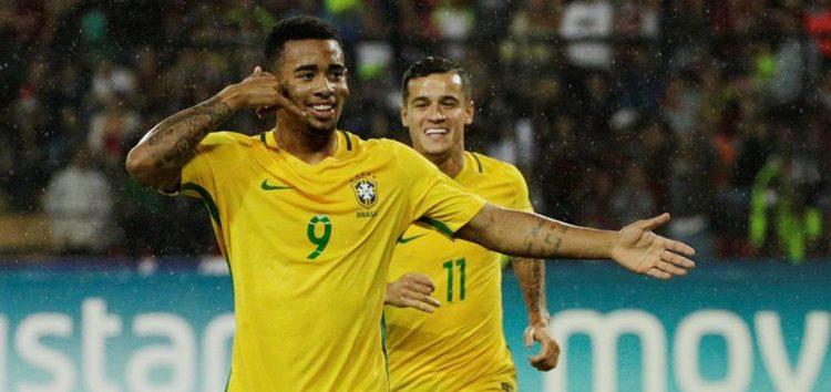 Brasil é líder das Eliminatórias para Copa da Rússia