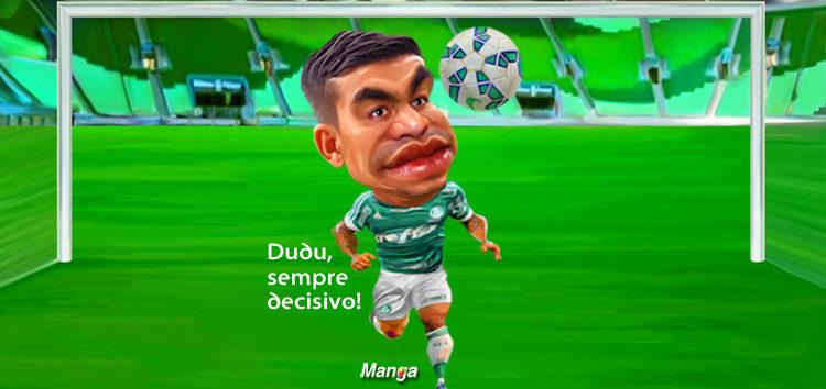 Clique e veja o gol de Dudu, do Palmeiras