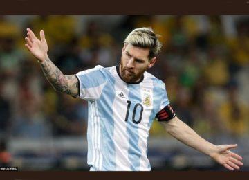 Messi: craque sob condições