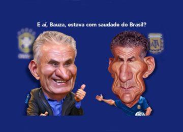 Clique e veja o humor brazuca com os hermanos