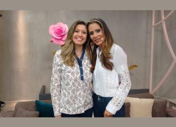 Entrevista na TV com nossa colunista Flávia Andreoli