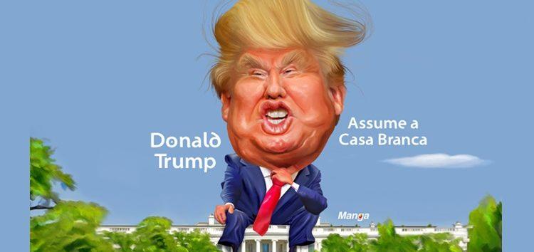 Clique e veja Trump assumindo a Casa Branca