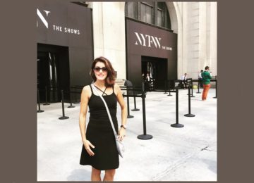 Andressa Mastrangelli: New York Fashion Week the shows