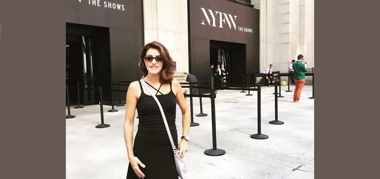 Andressa Mastrangelli: New York Fashion Week the shows
