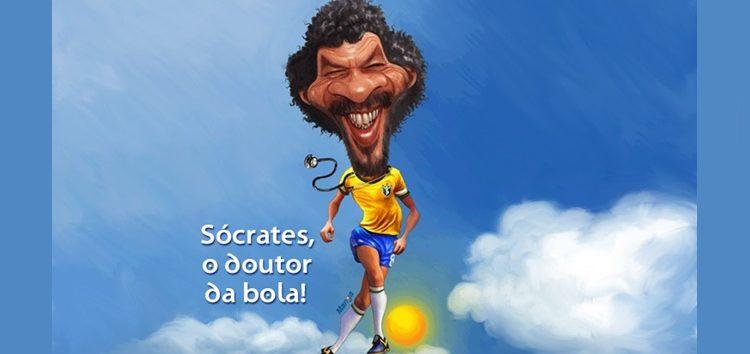 Clique e veja o saudoso Sócrates