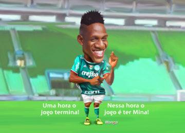 Clique e veja a dancinha de Mina, craque do Palmeiras