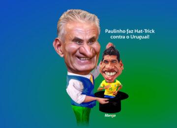 Clique e veja o carrasco brasileiro do Uruguai: Paulinho