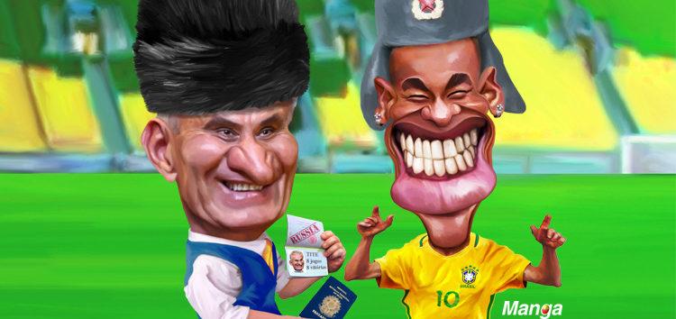 Clique e veja a felicidade do Brasil nas Eliminatórias