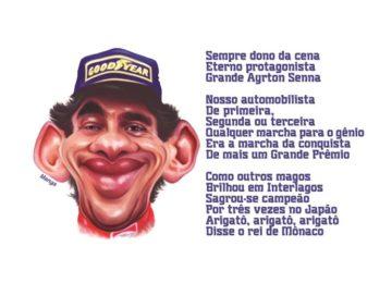 Clique e veja a homenagem a Ayrton Senna