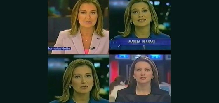 "Marisa Ferrari estreia coluna ""Gente"""