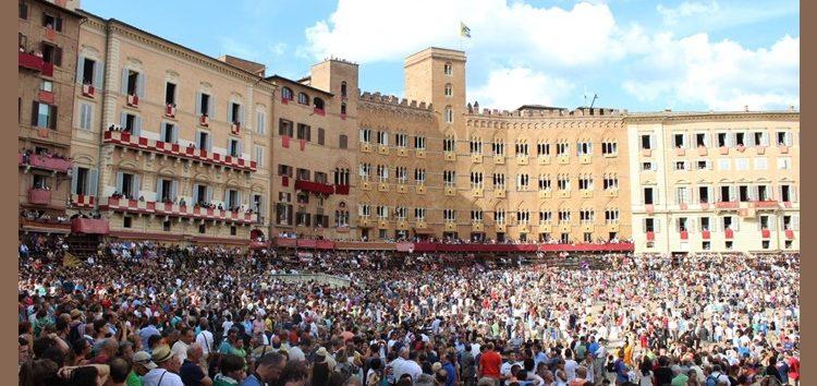 Rosângela Andrioli: Palio di Siena, uma tradição italiana