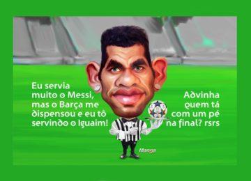 Clique e veja a animação do craque Daniel Alves
