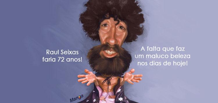 Clique e veja a charge animada de Raul Seixas