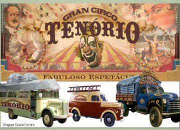 Fe Bedran: Design gráfico e veículos de cena