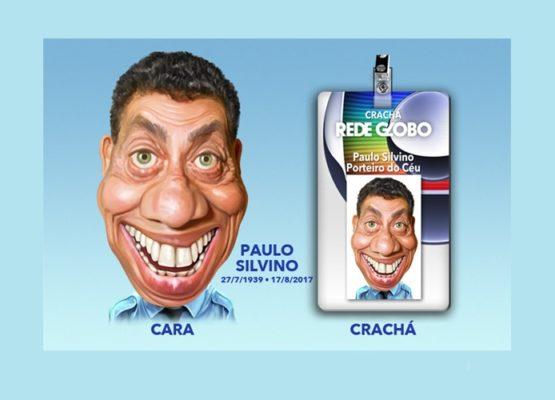 Clique e veja a animação em homenagem a Paulo Silvino