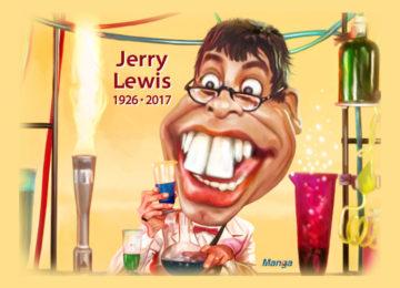 Clique e veja a charge animada de Jerry Lewis