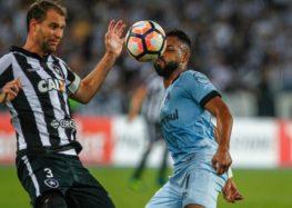 Sacheto: Empate entre Botafogo e Grêmio na Libertadores