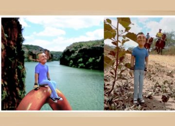 Fe Bedran  – Arte na TV: Pessoas em miniatura