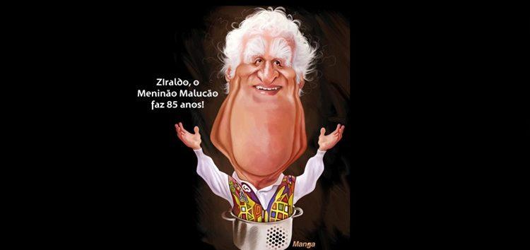 Clique e veja a charge animada do cartunista Ziraldo