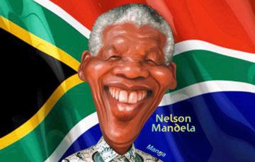 Clique na homenagem à Mandela no Dia do Homem