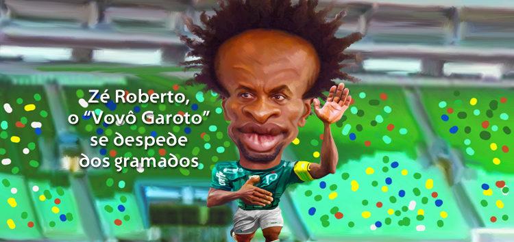 Clique e veja a despedida de Zé Roberto do Palmeiras