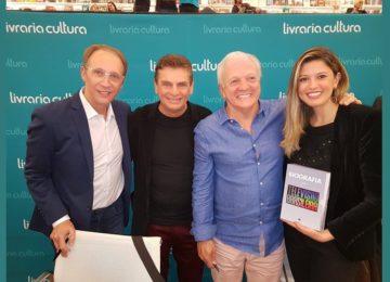 Andreoli: Sucesso total o lançamento da maior Biografia da TV