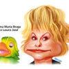 Veja a charge animada de Ana Maria Braga e Louro
