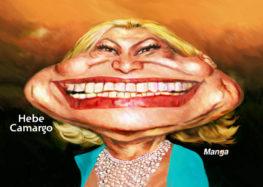 Manga: Clique e veja a charge animada de Hebe Camargo
