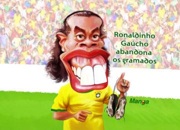 Manga: Clique e veja a despedida de Ronaldinho Gaúcho