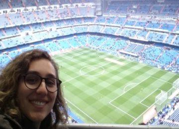 Victoria Salemi estreia no Esporte falando de Real X PSG