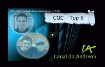 Semana sensacional no Canal do Andreoli youtube.com/CanaldoAndreoli  INSCREVA-SE!