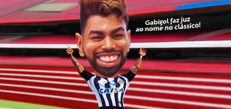 Manga: Clique e veja a charge do craque Gabigol