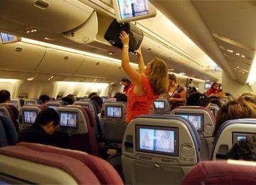 Lordello: Cuidado com golpes dentro do avião