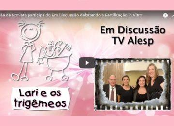 """Flávia Andreoli: Entrevista sobre fertilização com """"Mãe de Proveta"""""""