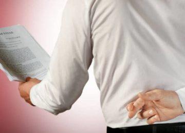 Lordello: Conheça as principais mentiras ou omissões nos currículos