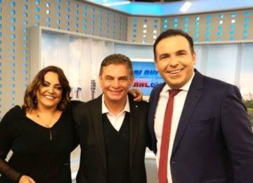 Voltando às telinhas, Andreoli estreia programa na Record News